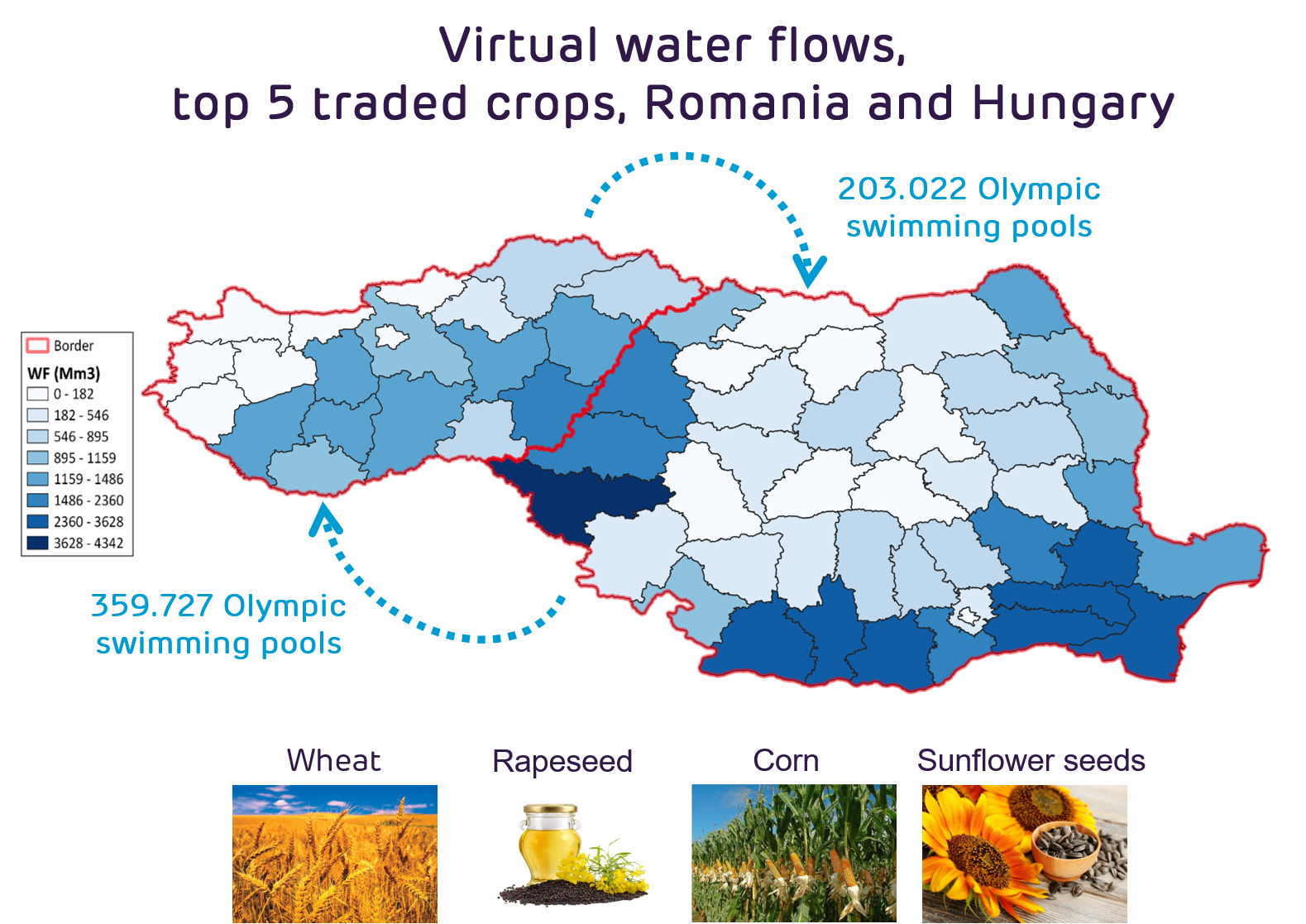 Wetskills' CaseBooster and WFI team up to gain insight into Central & Eastern Europe virtual water flows